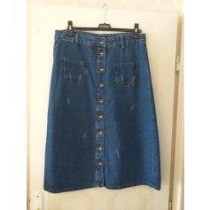 Jupe en jean boutique indépendante  pas cher