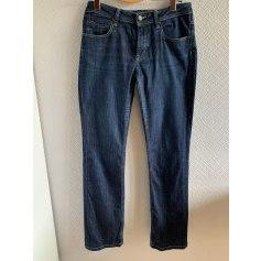Jeans droit Burberry  pas cher