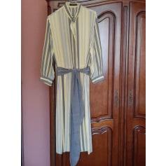 Robe mi-longue Louis Féraud  pas cher