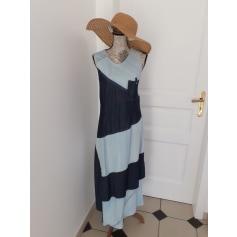 Robe longue Bleu de Sym  pas cher