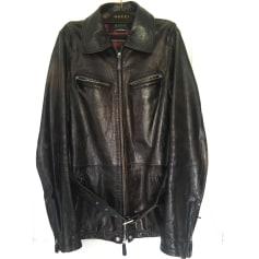 Leather Jacket Gucci
