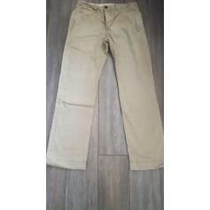 Straight Leg Pants Abercrombie & Fitch