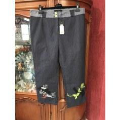 Pantalon droit Leslie  pas cher