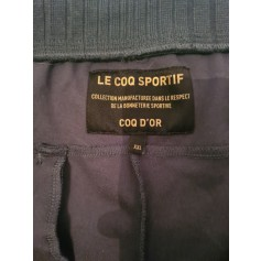 Pantalon large Le Coq Sportif  pas cher
