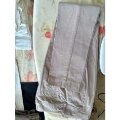 Pantalon droit Chattawak  pas cher