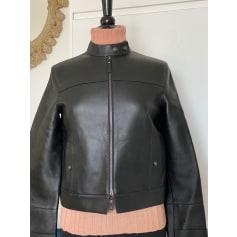 Blouson en cuir Longchamp  pas cher