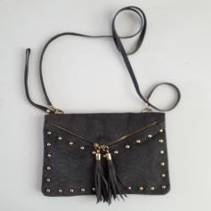 Schultertasche Leder Genuine Leather