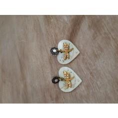 Boucles d'oreille Fuschia  pas cher