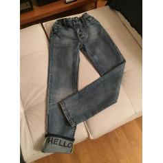 Jeans large, boyfriend Desigual  pas cher