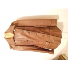 Manteau en cuir Yesterday Never Dies  pas cher