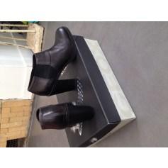 Bottines & low boots à talons Geox  pas cher