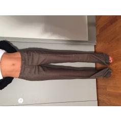 Pantalon droit Barbara Bui Initials  pas cher