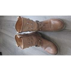Santiags, bottines, low boots cowboy Méliné  pas cher