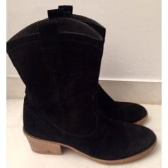 Santiags, bottines, low boots cowboy Etam  pas cher