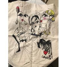 Sac en bandoulière en tissu Lanvin pour H&M  pas cher