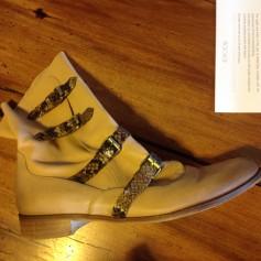 Bottines & low boots plates Bocage  pas cher