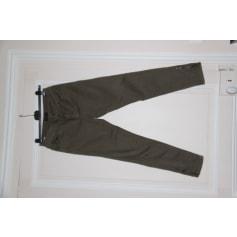 Pantalon slim, cigarette Galeries Lafayette  pas cher