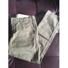 Pantalon droit ines de la fressange pour Uniqlo  pas cher