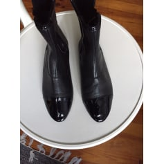 Bottines & low boots plates Friis & Company  pas cher