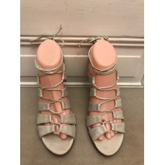 Sandales à talons Comptoir Des Cotonniers  pas cher