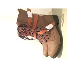 Boots Bottines Articles 3 Collection Tendance Femme amp; Suisses Low 1rqrwE