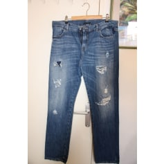 Jeans droit Sisley  pas cher