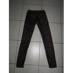 Pantalon slim, cigarette Calzedonia  pas cher
