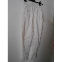 Pantalon slim, cigarette Hermès  pas cher
