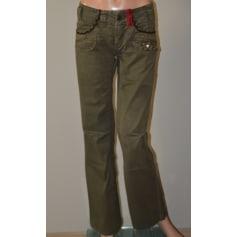 Pantalon large Double One Peace  pas cher