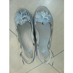 Sandales compensées One Step  pas cher