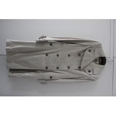 Manteau en cuir Burberrry  pas cher