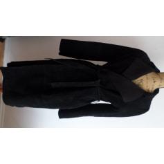 Manteau en cuir Naf Naf  pas cher