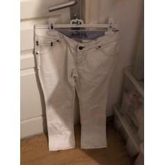 Jeans très evasé, patte d'éléphant Von Dutch  pas cher