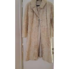 Manteau en fourrure inconnue  pas cher