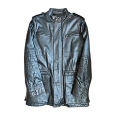 Leather Jacket Versace