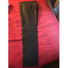 Straight Leg Pants Curling
