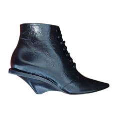 Santiags, bottes cowboy Saint Laurent  pas cher