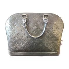 Sac à main en cuir Louis Vuitton Alma pas cher
