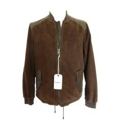 Leather Zipped Jacket Pepe Jeans