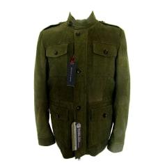 Manteau en cuir Tommy Hilfiger  pas cher