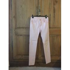 Pantalon slim, cigarette Miss sister  pas cher