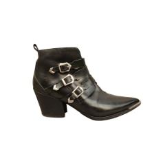 Santiags, bottines, low boots cowboy Sartore  pas cher
