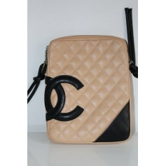 Pochette en bandoulière Chanel Cambon pas cher