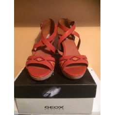Sandales à talons Geox  pas cher