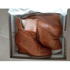 Bottines & low boots à compensés Kookai  pas cher