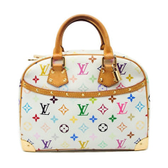 Sac à main en tissu Louis Vuitton  pas cher