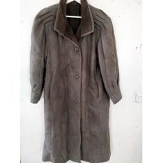 Manteau en fourrure Ledermann  pas cher