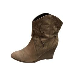 Wedge Ankle Boots Comptoir Des Cotonniers
