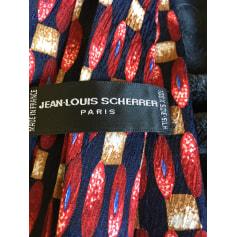 Cravate Jean-Louis Scherrer  pas cher