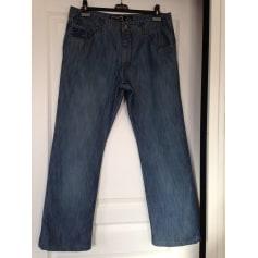 Jeans très evasé, pattes d'éléphant Rica Lewis  pas cher